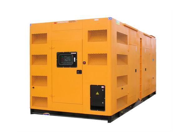 河东500-600KW静音发电机组照片