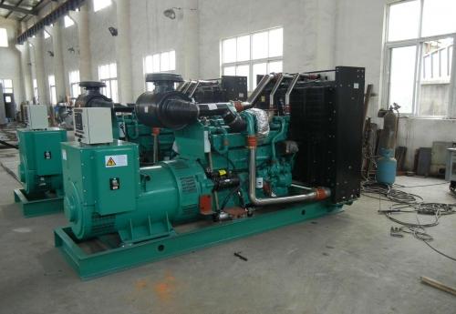 天津滨海新二手威曼400千瓦柴油发电机组D15A