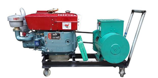 天津滨海新二手上柴10kw小型柴油发电机